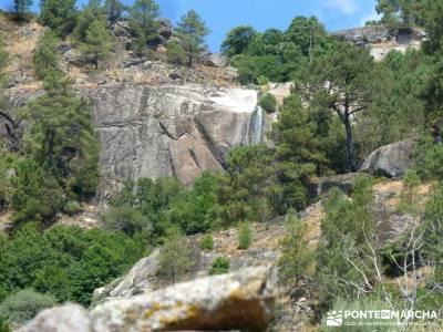 Cascadas de Gavilanes; senderismo madrid grupos;viajes senderismo;trekking senderismo